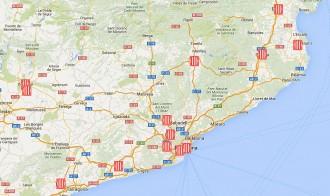 MAPA de la distribució territorial dels consellers del nou Govern de Carles Puigdemont