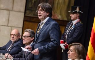 Carles Puigdemont promet el càrrec «amb fidelitat a la voluntat del poble de Catalunya»