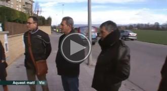 TV3 es fa ressò dels robatoris al barri de la Serra de Sanferm de Vic