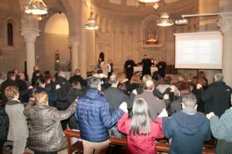 Catòlics, ortodoxes i protestants de Solsona han pregat junts