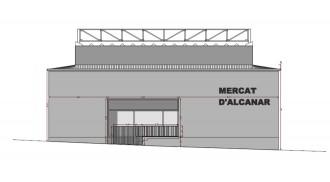 Comencen les obres de reforma del mercat municipal d'Alcanar