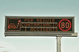 Vés a: La reducció de la velocitat a 80 km/h no disminueix la contaminació