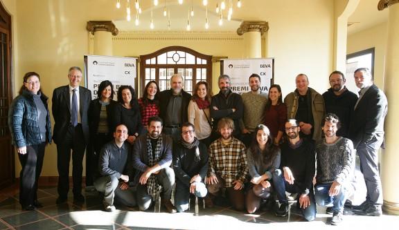 VÍDEOS Les sis obres finalistes del Premi BBVA de Teatre 2016