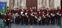 La Banda Santa Anna fa arribar la música a l'escola Teresina Martorell
