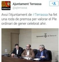 ERC-MES, CUP i TeC: «El PSC ha confós l'Ajuntament amb casa seva»