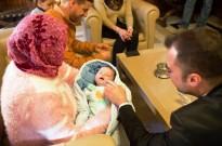 Ballart rep a l'Ajuntament de Terrassa el primer nadó de 2016