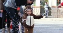 Els més petits protagonitzen el primer dia de Carnaval a Montblanc