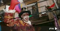 Tret de sortida al Carnaval de Valls amb la rua infantil del carnestoltes