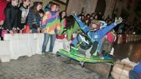 La baixada de Boits arrenca emoció i espectacularitat al carnaval