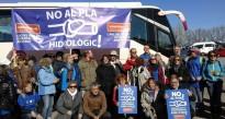 Terrassa és present a la manifestació contra el Pla Hidrològic de l'Ebre