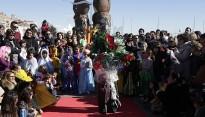 Més de setanta petits desfilen al Carnaval Infantil de Cambrils