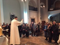 Tret de sortida dels missioners de la Misericòrdia de la Parròquia de Solsona