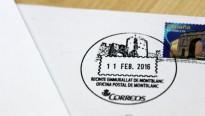 Correus estrena un mata-segells amb les muralles de Montblanc