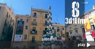 Els grans castells dels últims quatre anys dels Verds, en un vídeo