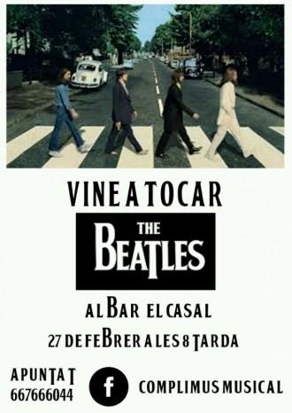 COMPLIMUS organitza una nova sessió musical sobre versions dels Beatles