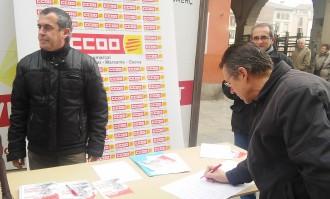 CCOO reclama uns ingressos mínims de 426 euros per a les persones en situació de pobresa
