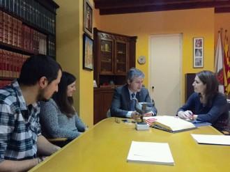 Infraestructures viàries, educatives i industrials, principals temes traslladats per l'Ajuntament solsoní a la nova delegada del govern