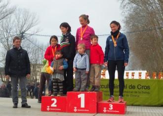 La celonina Louise Brown campiona de Catalunya de veteranes de cros