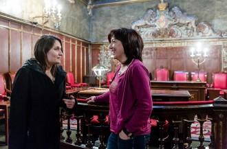 La nova delegada del Govern visita l'alcaldessa de Vic
