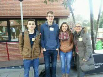 Alumnes de l'Escola Arrels al «European Youth Parliament»