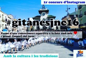 La JNC de Sant Celoni impulsa un concurs de fotos de les Gitanes per instagram
