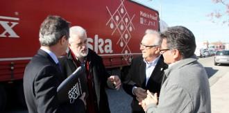 Els alcaldes del Pacte de Berà preparen un altre gran tall de l'N-340 al Vendrell
