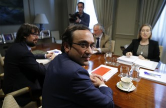 Vés a: Josep Rull reclama a Ana Pastor el traspàs de la gestió de Rodalies