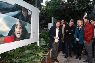 Sergi Cámara crida a no donar l'esquena als refugiats amb les seves imatges
