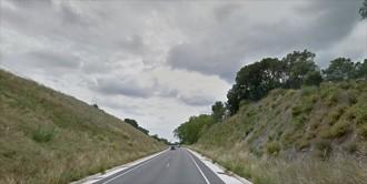Accident entre un turisme i un camió a la C-242 en el seu pas per Alforja