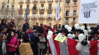 La Baixada del Pajaritu omple de sàtira el dissabte del Carnaval de Tarragona