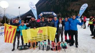 5è lloc de Sílvia Leal a la prova del Campionat del Món de Raquetes de neu