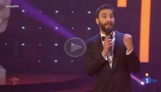 VÍDEO El «clatellot» de l'actor Dani Rovira a Montoro que arrasa la xarxa