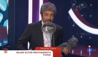 Vés a: VÍDEO L'emoció i solidaritat de Ricardo Darín, un dels discursos més aplaudits als Goya