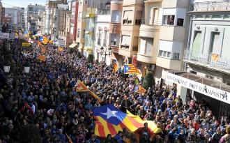 Amposta estima en més de 500.000 euros l'impacte econòmic a la ciutat per la manifestació del 7F