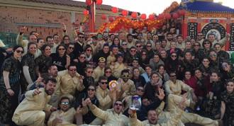La Colla Ferralla guanya el Carnaval de Torredembarra