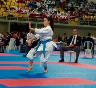 La cadet Silvana Bodington bronze a l'Europeu de karate a Xipre
