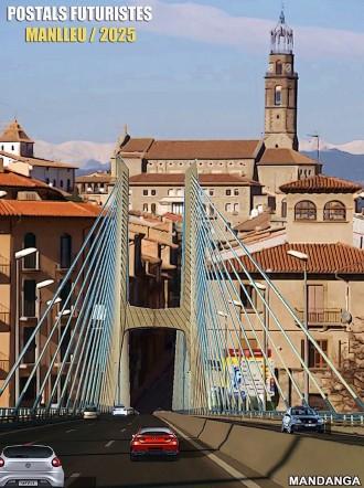 El projecte definitiu d'ampliació del pont de Can Molas