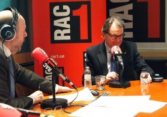 Artur Mas creu que Rajoy no tornarà a ser president espanyol