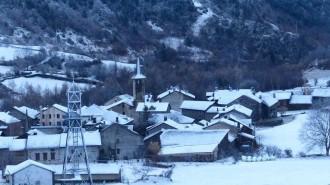 Previsió de noves nevades al llarg de la setmana al Pallars