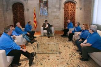 La PDE manté «bona sintonia» amb Puigdemont i anuncia més mobilitzacions
