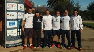 L'equip absolut masculí del CT Monterols, campió de Catalunya