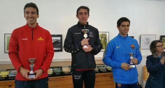 El manresà Christian Curopos, segon al Campionat de Catalunya de Ruta