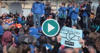 VÍDEO: La manifestació d'Amposta amb música de Joan Rovira