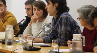 La CUP de Sant Celoni defensa la recollida selectiva porta a porta en el ple