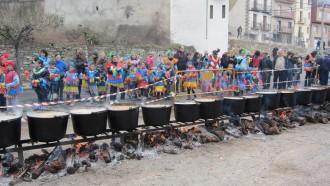 Isona celebra avui la festa de la Guixa de Carnaval