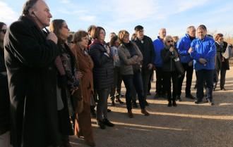 Bateria d'arguments contra el pla de l'Ebre a la delegació d'eurodiputats en la seua visita al Delta