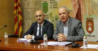 Òscar Peris recull les peticions dels alcaldes en una visita a la Conca