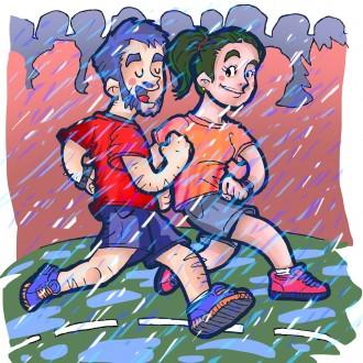 La moda de córrer