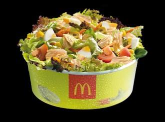 Quantes calories té una amanida del McDonald's?