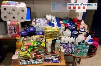 Detingut per furtar en supermercats del Bages productes per 1.890 euros